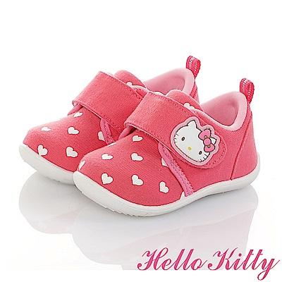 HelloKitty 全台獨家限量 防滑柔軟減壓休閒學步童鞋-可室內-桃