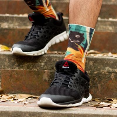 小創襪 台灣黑熊  咖啡紗3D科技襪