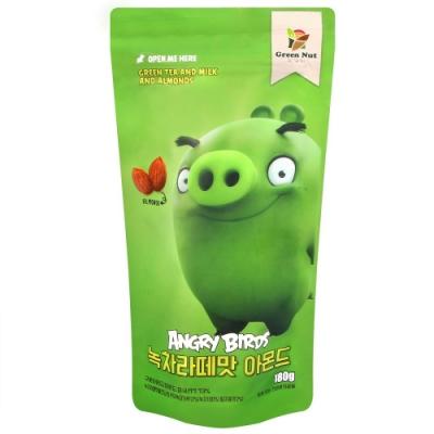 Green Nut 憤怒鳥綠茶拿鐵杏仁(180g)