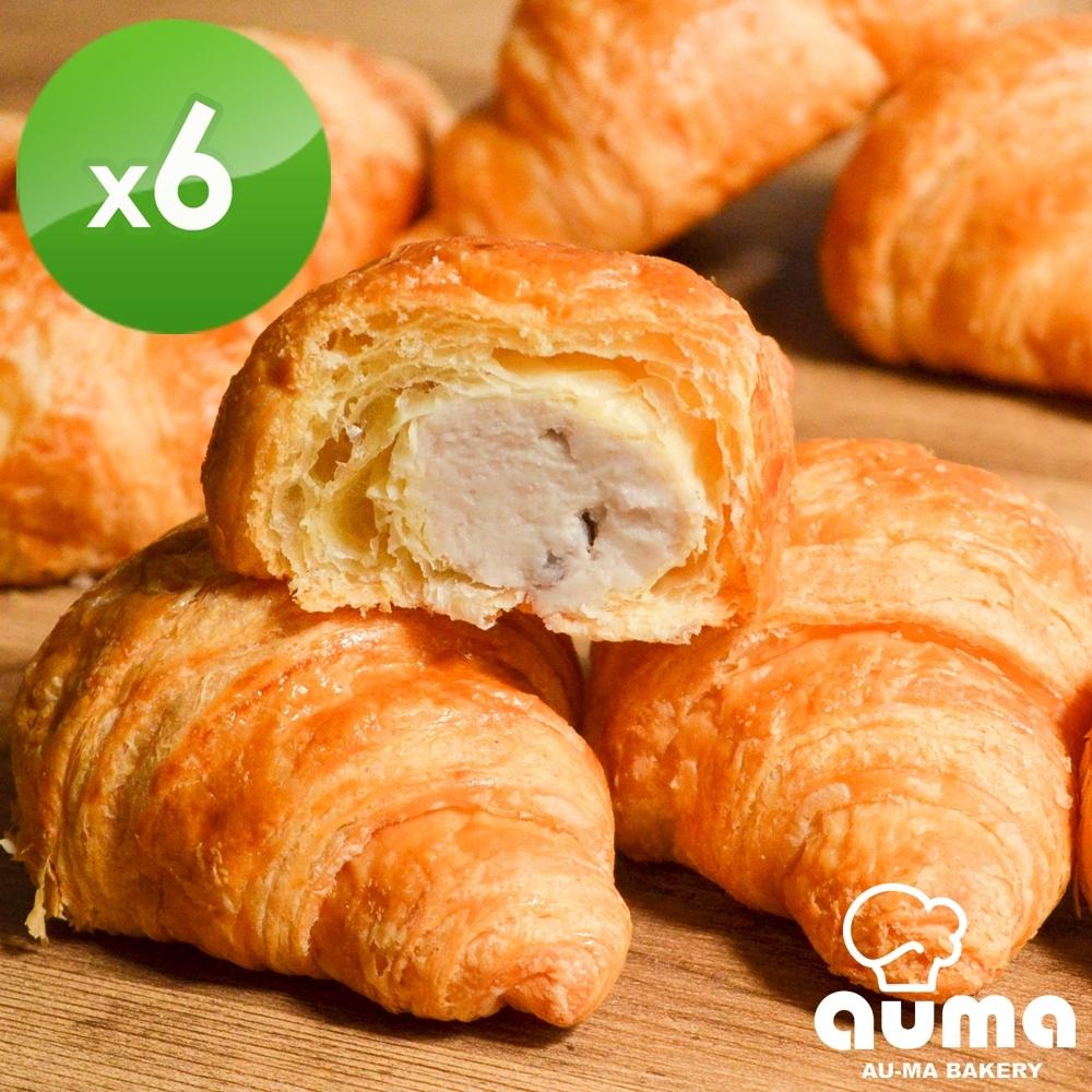 奧瑪烘焙 大甲芋泥可頌10入/盒X6盒