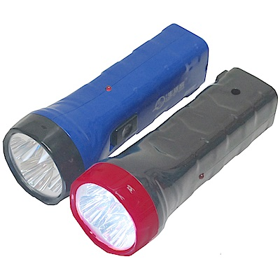 月陽超值2入迷你4LED充電式超強光手電筒露營燈(NM1293)
