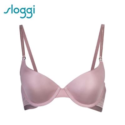 sloggi S by sloggi Silhouette高端系列均薄 D罩杯內衣 柔膚粉紅 16-8118 G2