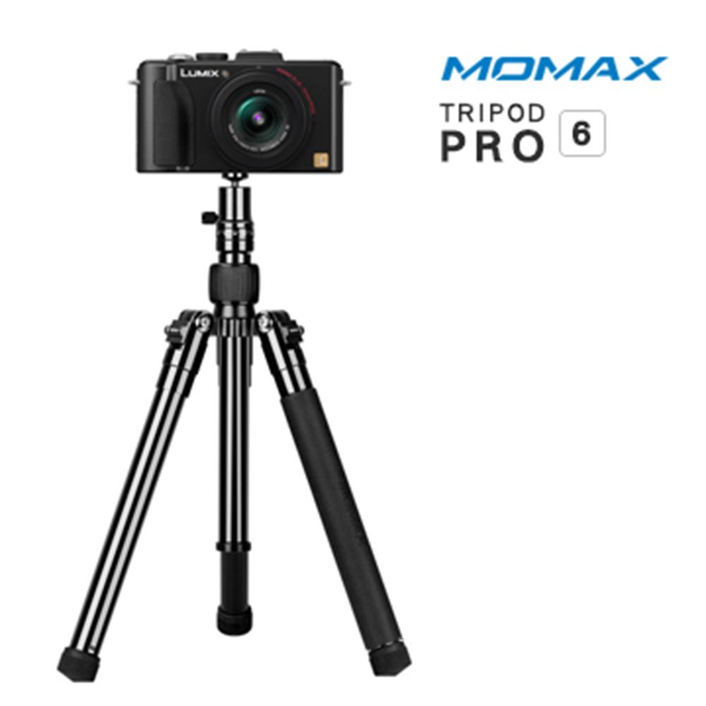 MOMAX Tripod PRO 6 鋁合金自拍棒三腳架130cm(手機/相機用) @ Y!購物