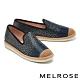 休閒鞋 MELROSE 奢華時尚水鑽金蔥造型厚底休閒鞋-黑 product thumbnail 1