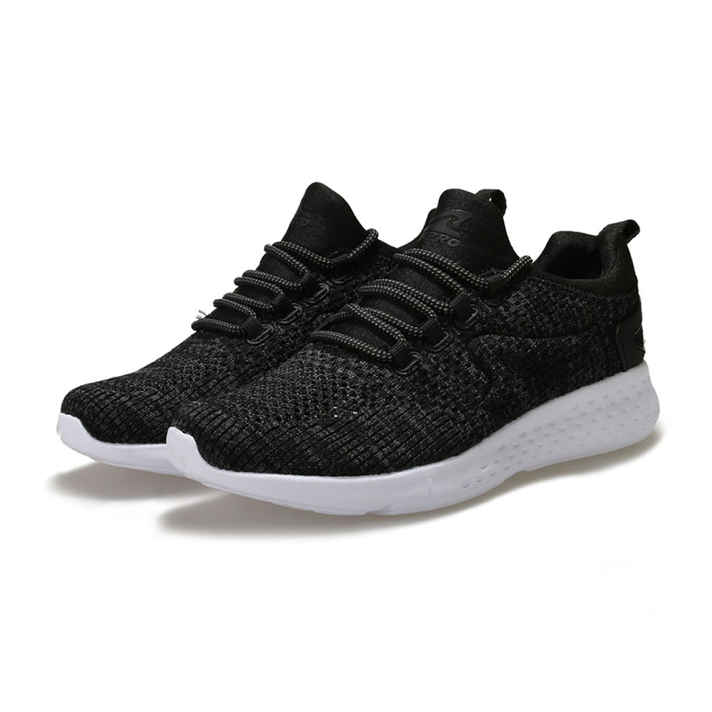 【ZEPRO】女子WIND WALK風行系列時尚簡約健走鞋-灰黑