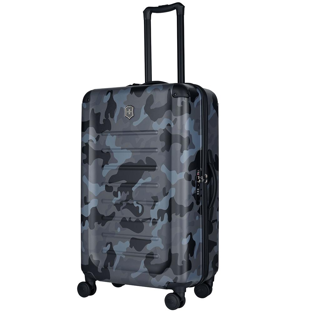 VICTORINOX 瑞士維氏Spectra 2.0輕量級霧面29吋硬殼行李箱-海軍迷彩