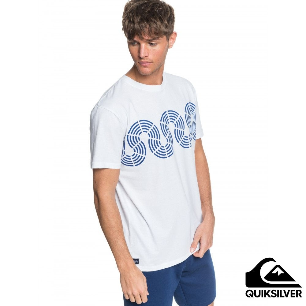 【QUIKSILVER】MTK CONNECTED TEE T恤 白色