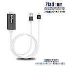 【CL10尊爵黑】二代Platinum蘋果專用 HDMI鏡像影音線(加送3大好禮)