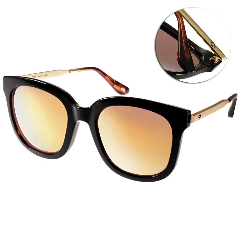 Go-Getter太陽眼鏡 個性方框/琥珀-黃水銀#GS4001 06