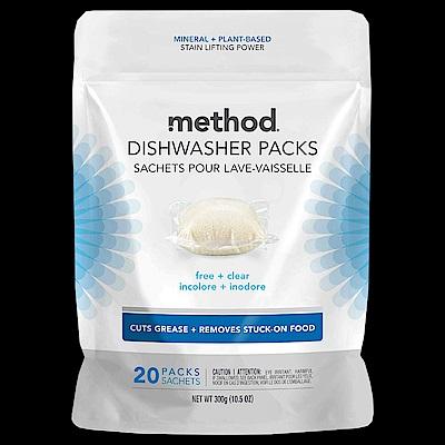 Method 美則潔淨三效聰明洗碗球-無香料(20顆入)