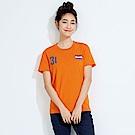 101原創 世足限定T-荷蘭短袖上衣-橘