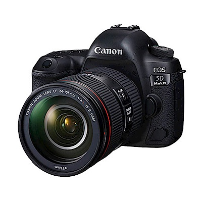 Canon EOS 5D Mark IV (5D4) 24-105mm 變焦鏡組(公司貨)