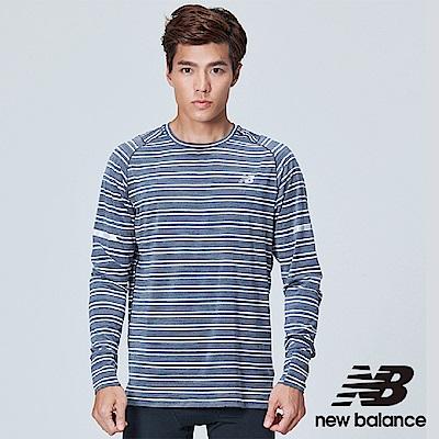 New Balance 慢跑上衣 AMT73236BKH 男性