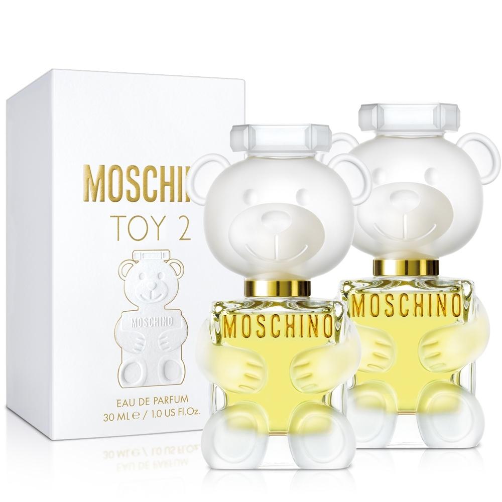 MOSCHINO 熊芯未泯2女性淡香精30ml X2入