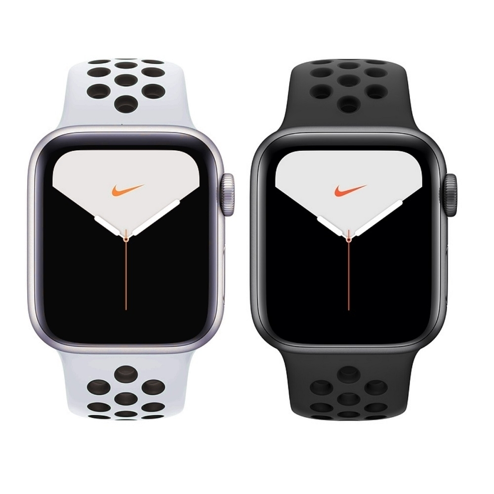 Apple Watch S5 NIKE 44mm (GPS)鋁錶殼配運動錶帶
