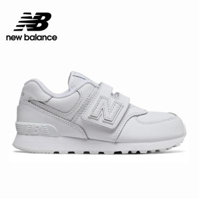 【New Balance】 復古鞋/童鞋_中性_白色_YV574ERM-W楦