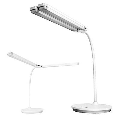KINYO 活動式雙燈管LED檯燈/桌燈(PLED-427)雙頭觸控