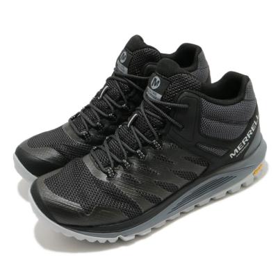 Merrell 戶外鞋 Nova 2 Waterproof 男鞋 登山 越野 郊遊 防水 耐磨 黃金大底 黑 灰 ML035579