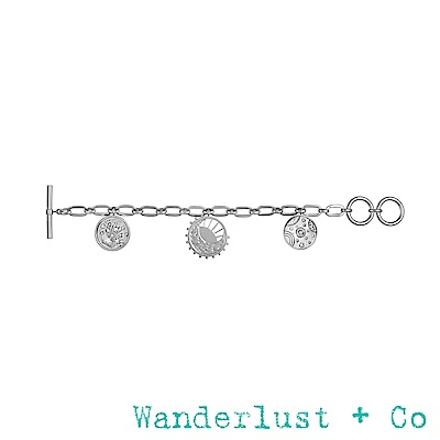 Wanderlust+Co 宇宙手鍊 - 銀色