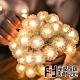 Fit Vitae羋恬家居 節慶居家佈置LED燈飾(暖白蒲公英-5m) product thumbnail 1