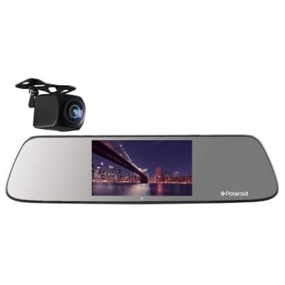 Polaroid 寶麗萊 DE501GS 星光夜視 前後雙錄 後視鏡行車記錄器-快