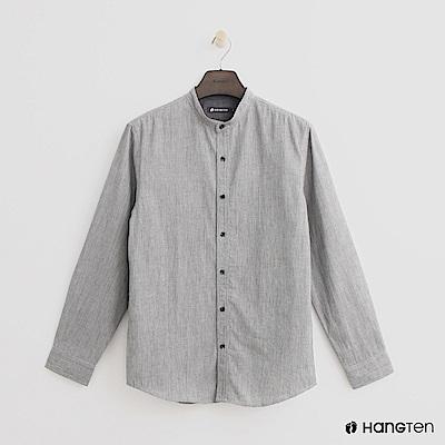Hang Ten - 男裝 - 個性休閒襯衫- 灰