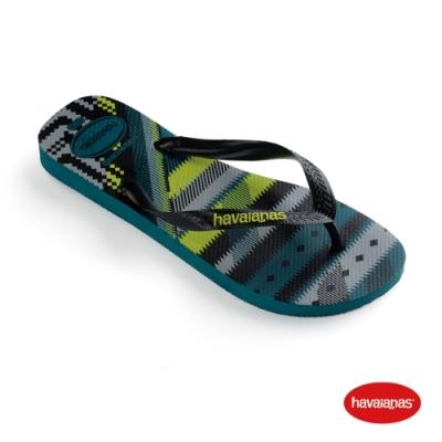 Havaianas 哈瓦仕 拖鞋 夾腳拖 人字拖 巴西 男鞋 灰青藍 4103358-0047M Trend