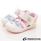 日本Carrot機能童鞋 獨角獸護趾後包涼鞋 ON031白(寶寶段)