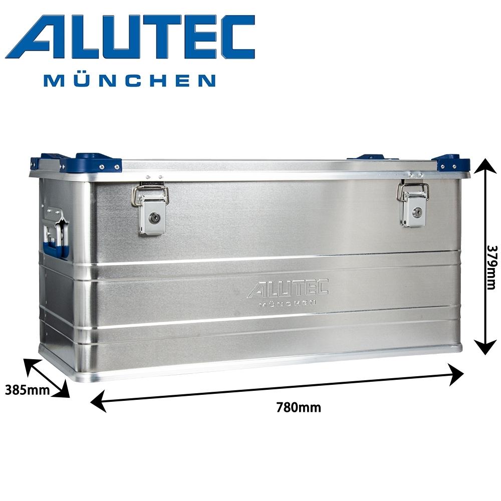 台灣總代理 德國ALUTEC-工業風 鋁箱 戶外工具收納 露營收納 居家收納 (92L)