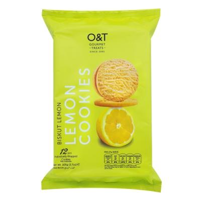 O&T 檸檬風味曲奇餅(105g)