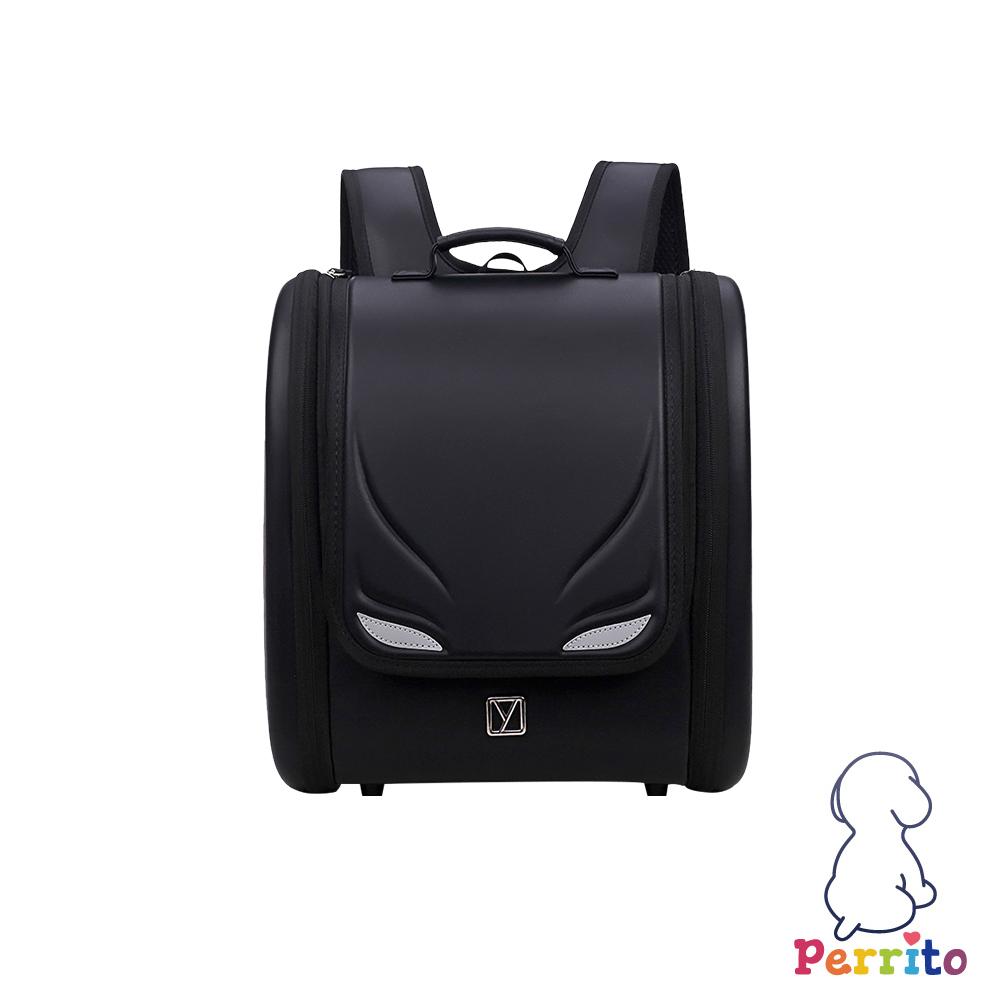 Perrito「英雄學園」日式核心護脊兒童書包 (黑色)