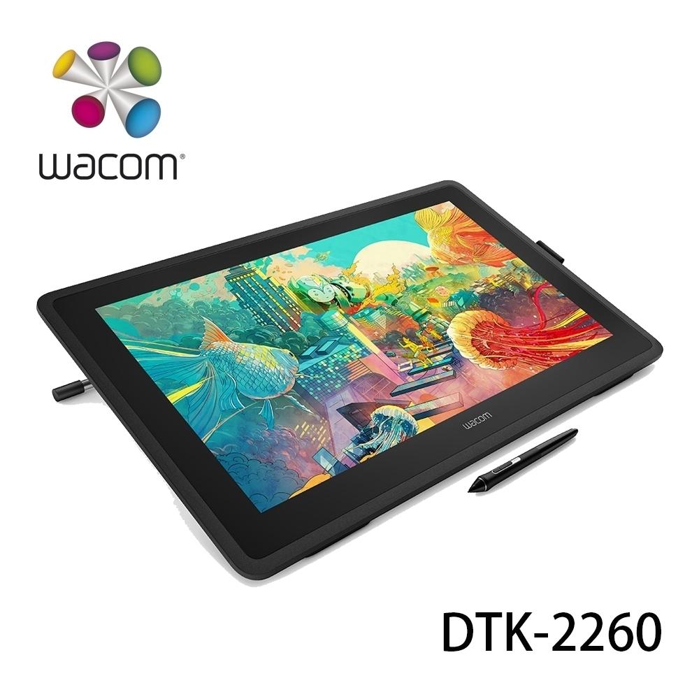 (福利品)Wacom Cintiq 22 繪圖液晶顯示器 (DTK-2260)