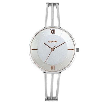 GOTO Marine 海洋系列時尚手錶-白/33mm