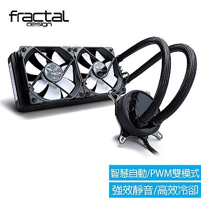 【Fractal Design】 Celsius S24一體式水冷散熱器 240 mm