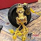 財神小舖 黃金媽祖吊飾  (含開光) DSM-5301