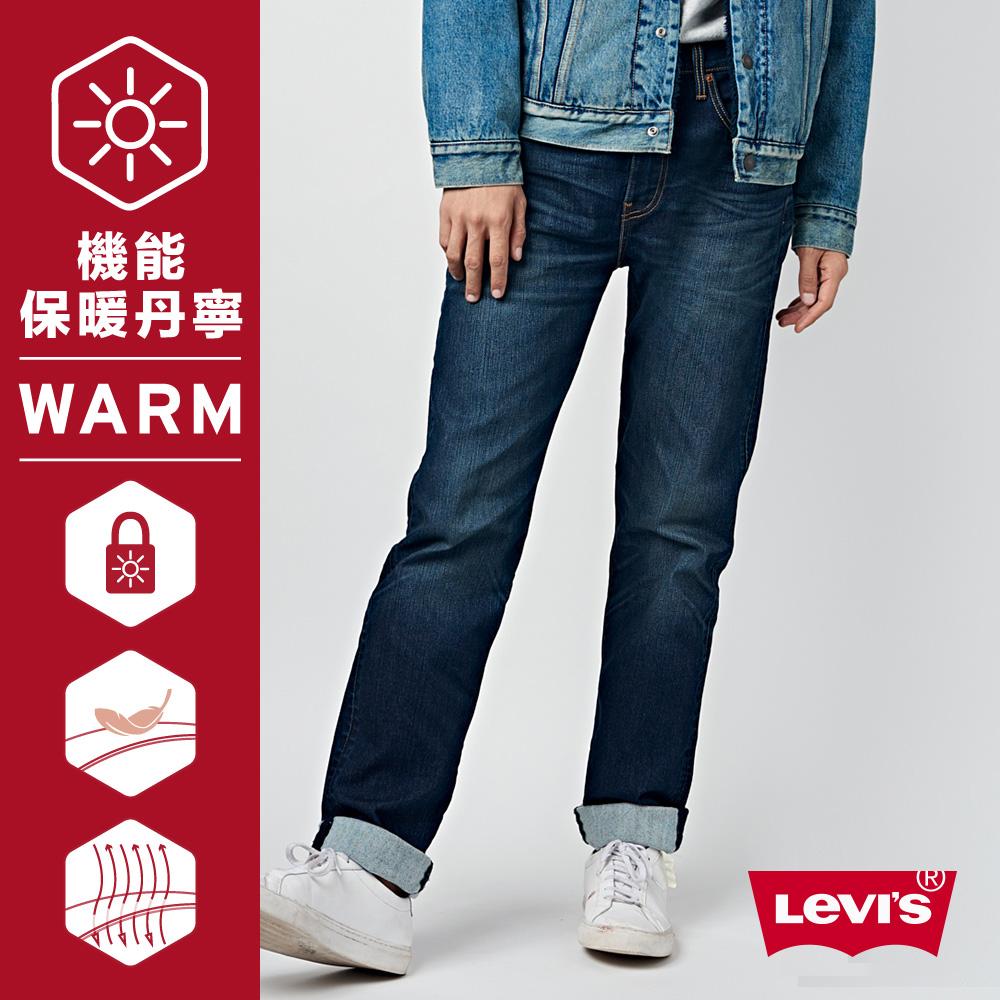 Levis 514 低腰直筒牛仔長褲 彈性布料 Warm Jeans