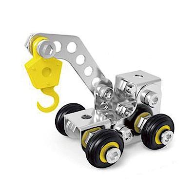 ZEYE-益智金屬積木-起重機(組裝模型)