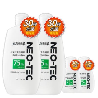 (買2送2) NEO-TEC妮傲絲翠抗菌乾洗手促銷組