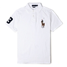 Polo Ralph Lauren經典電繡彩色大馬Polo衫(Custom)-白色