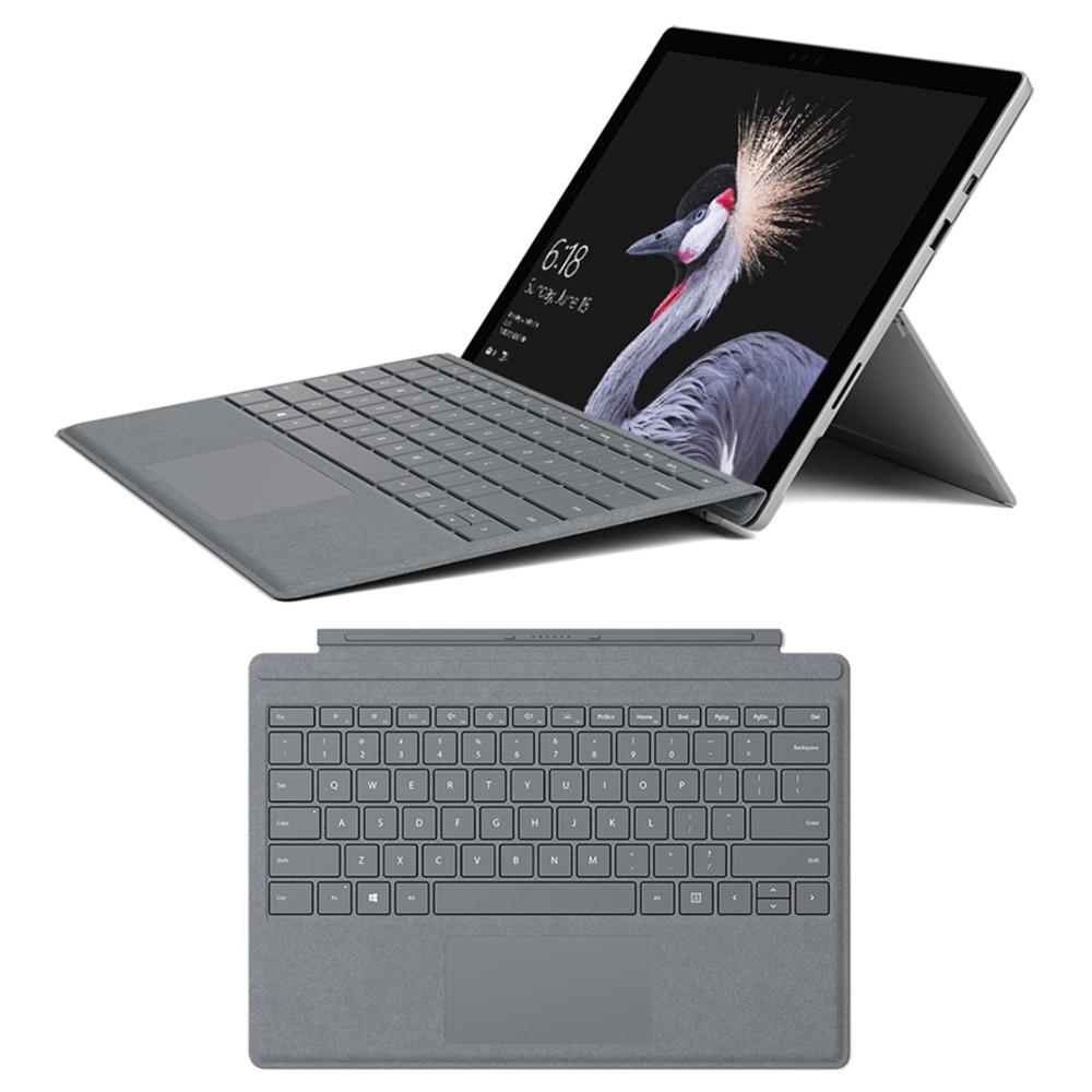 微軟 New Surface Pro (i5 8GB/128)主機+白金色鍵盤同捆包