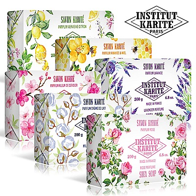 (2入組)IKP巴黎乳油木花園香氛手工皂200g(共6款)