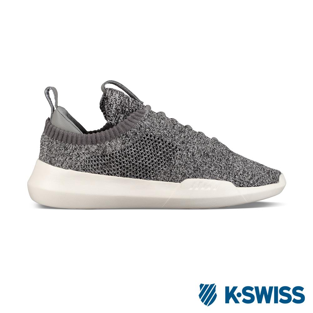 K-SWISS Gen-K lcon Knit休閒運動鞋-女-灰/白