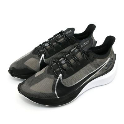 NIKE ZOOM GRAVITY 男 跑步鞋 黑(BQ3202001)