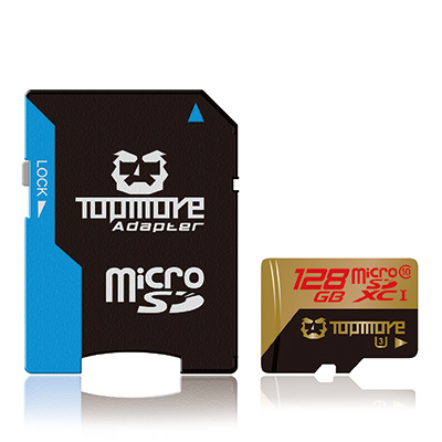 TOPMORE UHS-I (U3)128GB microSDXC Class 10記憶卡