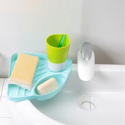 【Cap】廚房衛浴水槽三角瀝水置物架