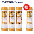 EVERPOLL愛惠浦科技 10吋樹脂濾芯 EVB- M100A [買3+送1]