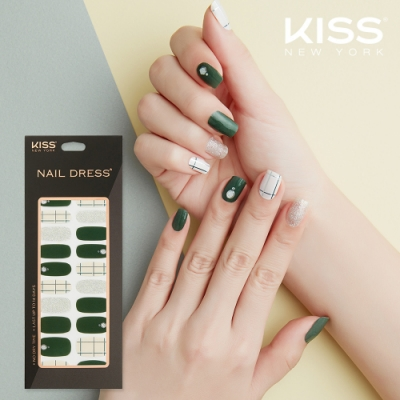 KISS New York-Nail Dress頂級光療指甲貼紙(愛與生命 KND25K)