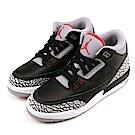 NIKE-AIR JORDAN 3 大童籃球鞋-黑