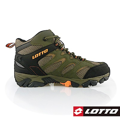 LOTTO 義大利 男 Sabre Mid <b>2</b> 戶外登山鞋 (綠)