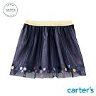 Carter's台灣總代理 深藍亮片紗裙